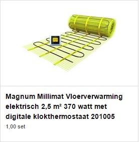 Elektrische vloerverwarming in 3 stappen leggen - Bouwmaat adviseert