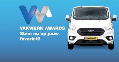 Stem voor de winnaar van de Vakwerk Awards