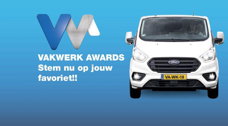 Stem voor jouw favoriet bij de Vakwerk Awards
